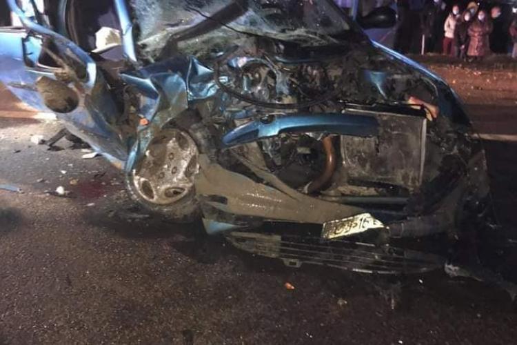 Accident rutier în Câțcău. Patru femei au ajuns la spital - FOTO
