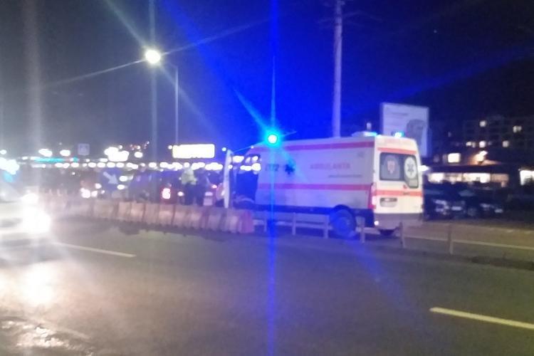 Accident la Metro Cluj! O ambulanță a lovit un alt autoturism - FOTO