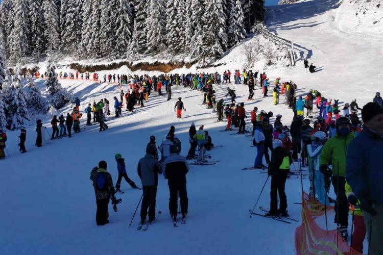 Salvatorii montani din Cluj, apel către schiorii experimentați: Să lăsăm pârtiile pentru familii cu copii și începători