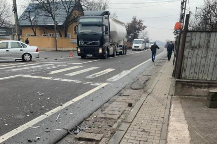 Accident la Căpușu Mare, pe drumul Cluj-Oradea