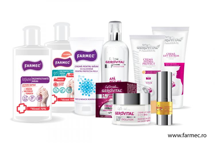Farmec anunță creșteri semnificative în 2020 pentru magazinul online (P)