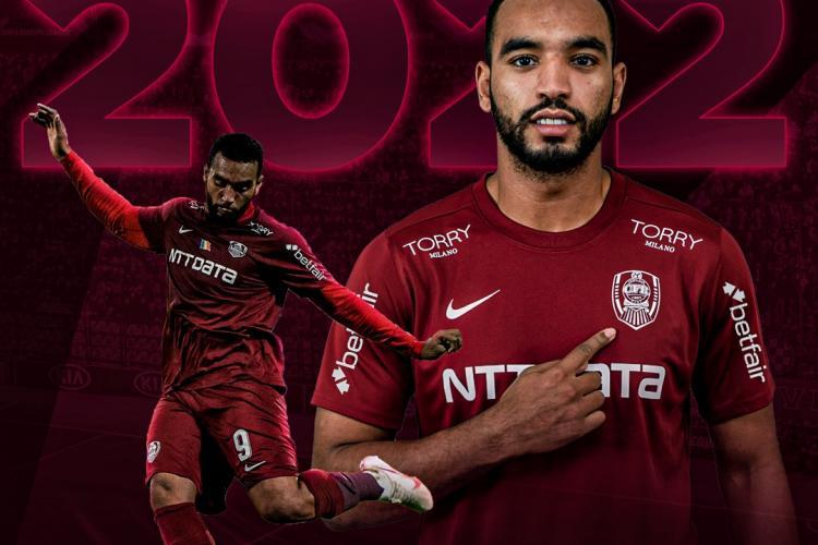 Billel Omrani rămâne la CFR Cluj până în 2022