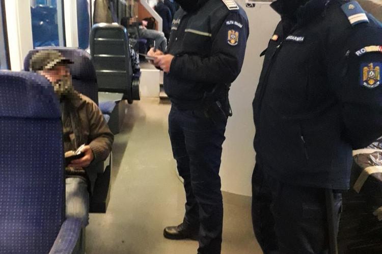 Polițiștii au dat amenzi în NEȘTIRE pentru nepurtarea măștilor în trenuri