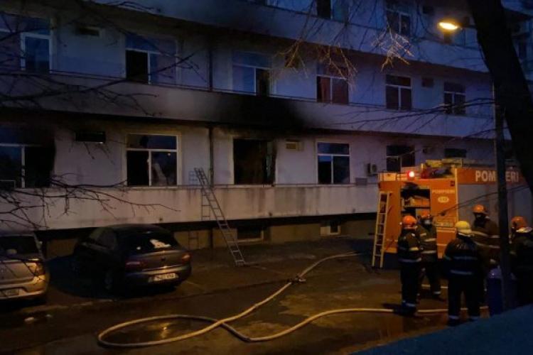 Incendiu Spitalul Matei Balș / UPDATE: A cincea victimă a fost găsită carbonizată