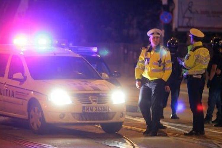 Un șofer a fugit de poliție la Turda și a fost urmărit pe stradă ca în filme