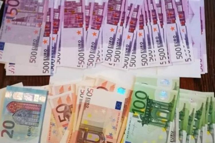 445.770 de euro contrafăcuți, depistați în Brașov. Cum funcționa fabrica de bani falși
