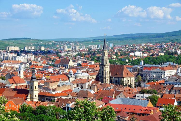 Premiu pentru Cluj-Napoca ridicat de primarul Emil Boc