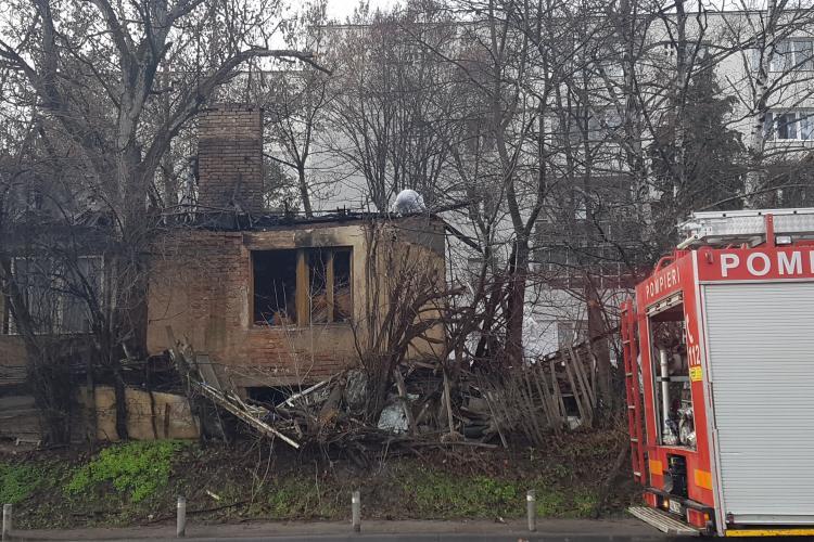 Imagini cu casa care a ars pe Constantin Brâncuși. Era o bomba ce ceas - VIDEO