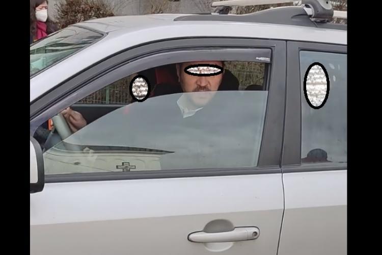 Cluj: Altercație pentru un loc de parcare: Ne-a amenințat. A spus că lucrează la Primărie - VIDEO