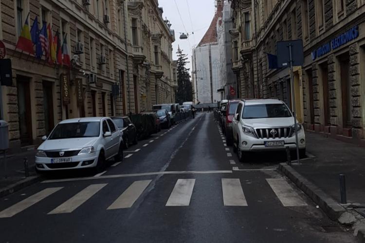 Clujul, aproape pustiu vineri dimineața la ora 9.20 - FOTO