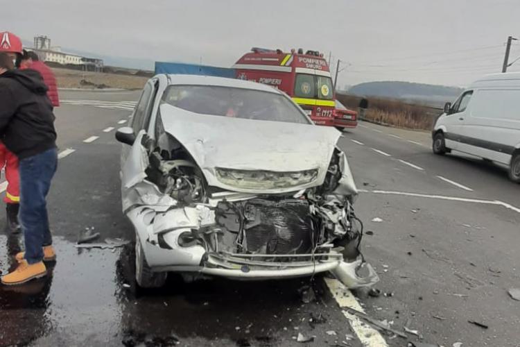 Accident la Cociu, Bistrița - FOTO