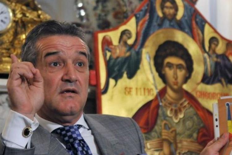 Gigi Becali se pregătește pentru retragerea la mănăstire