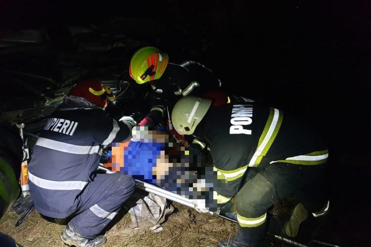 Accident mortal la Ciuperceni, judetul Satu Mare - FOTO