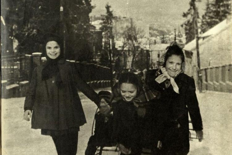 Ultima iarnă grea din Cluj-Napoca a fost în 1985. A înghețat Someșul - FOTO