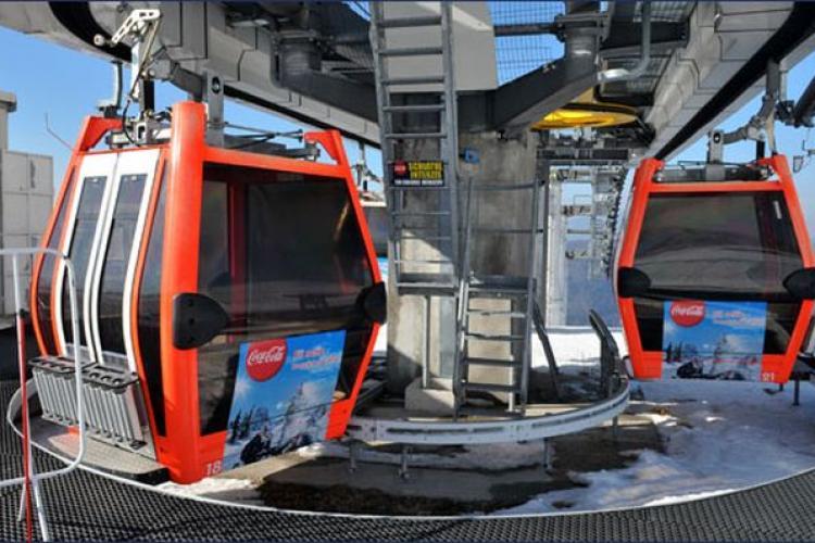 Telegondola de la Turda va costa între 5 și 10 milioane de euro pe kilometru