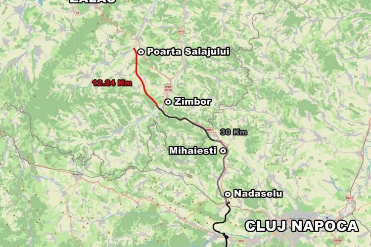 Autostrada Transilvania - Românii de la UMB au început în forță construcția de pe dealurile de lângă Cluj-Napoca