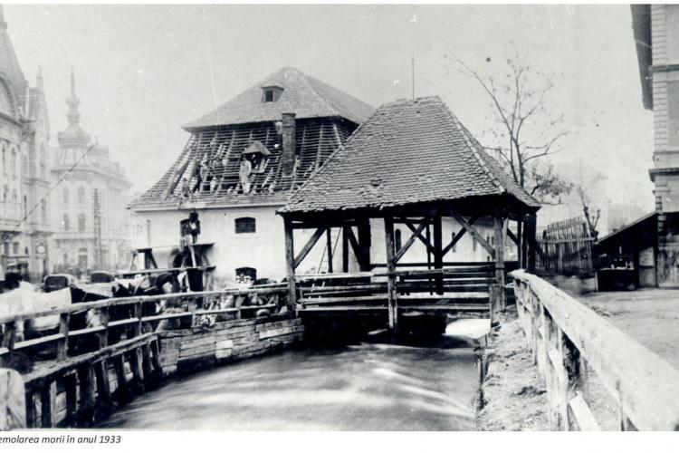 Istoria Canalului Morii de pe Barițiu. Până în 1930 a funcționat acolo o moară de apă, iar lângă era un târg de păsări - FOTO