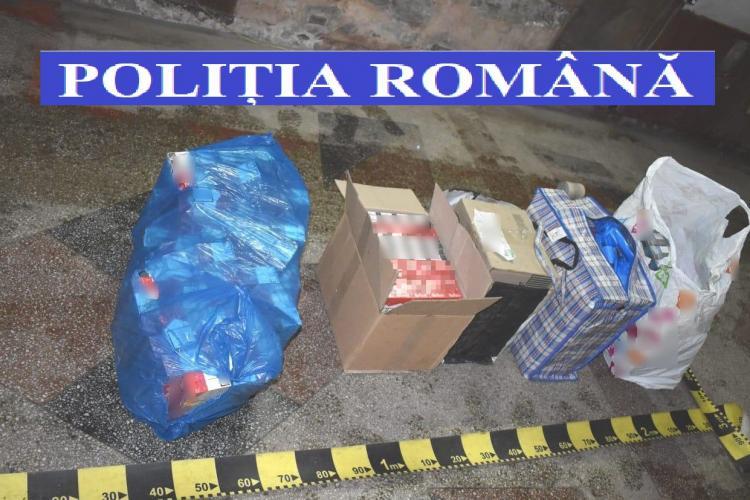 Traficant de țigări prins de polițiștii din Cluj