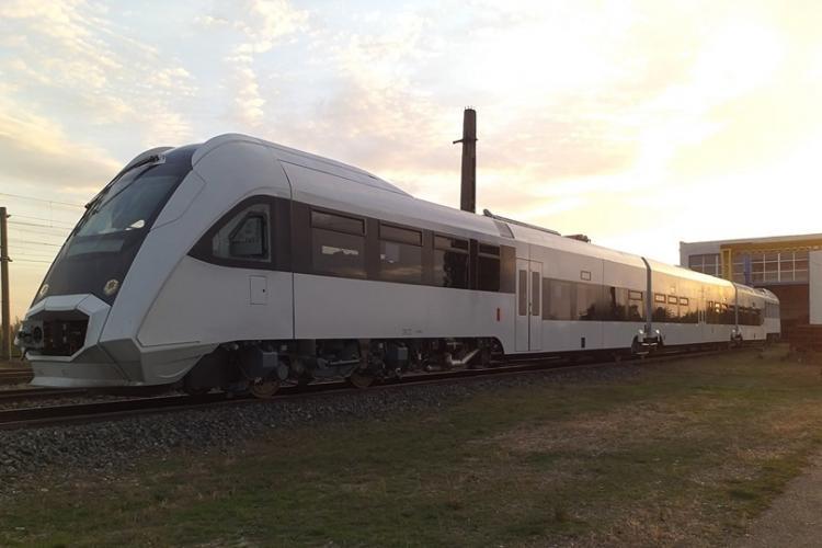 Două ore de la Cluj la Oradea cu trenul după modernizarea liniei de cale ferată