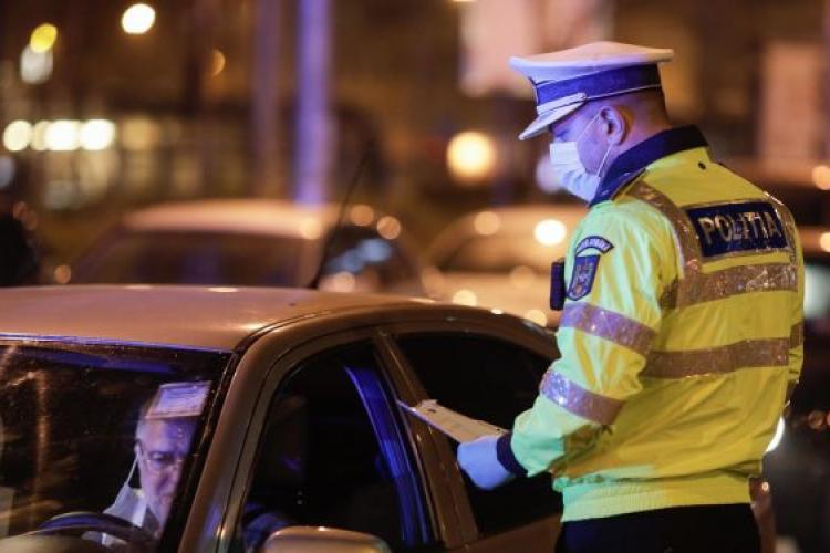 Vineri, noaptea șoferilor beți și fără carnet la Dej