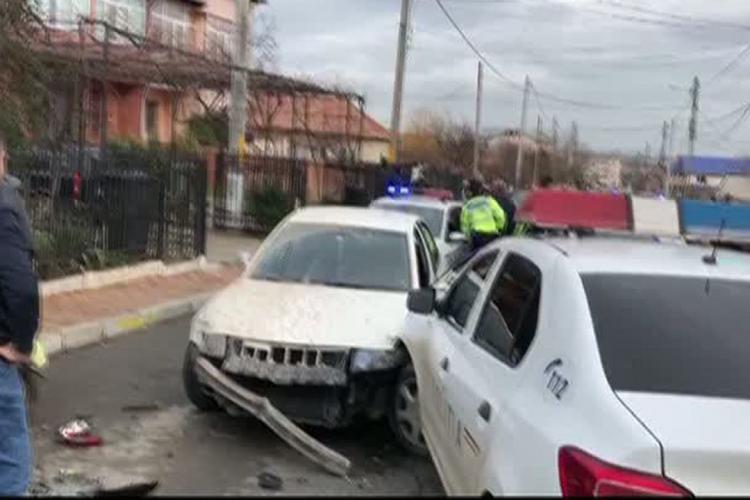 Șofer cu tupeu la Cluj! A furat mașina de la lucru, s-a urcat băut la volan și a fugit de poliție