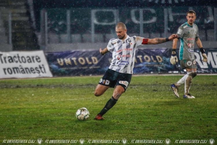 U Cluj a rupt contractul cu Gabi Tamaș