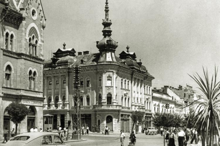 Strada Barițiu era o oază de verdeață în anii 1960! Clujul arăta ca o stațiune estivală. Ce se mai poate face în ziua de azi - FOTO