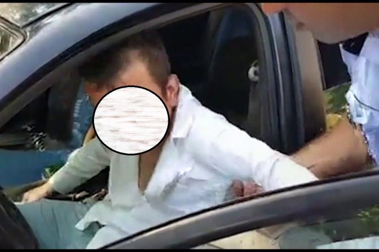 Un șofer bețiv din Băișoara a ajuns unde îi e locul, după gratii