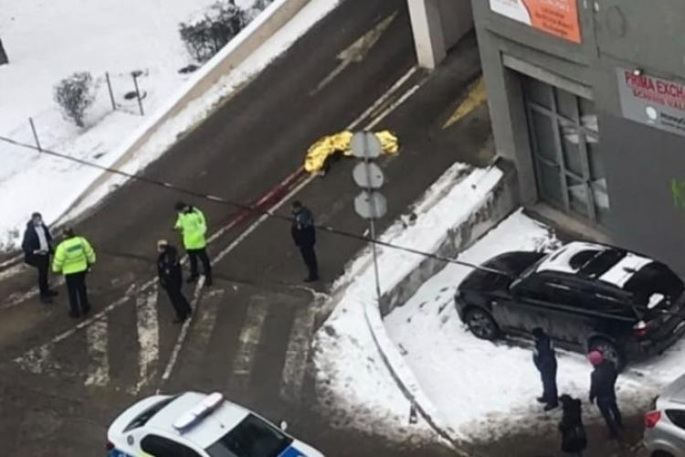 Sinucidere în Mărăști! Un bărbat s-a aruncat de pe parkingul de pe Dorobanților