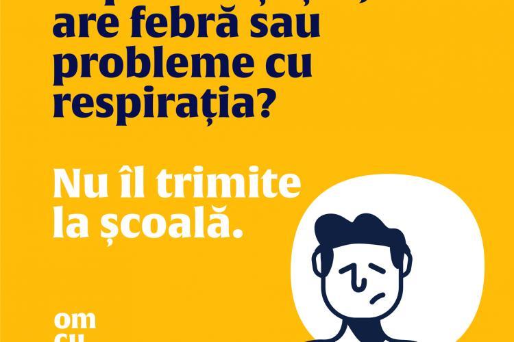 """Mesajul Ministerului Sănătății către părinți: """"Înainte să duci copilul la școală, fii atent la cum se simte"""""""