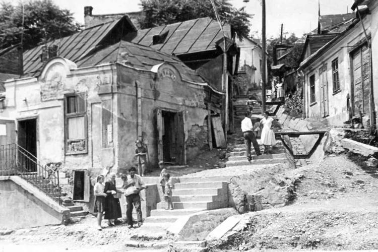 Povestea celei mai rău famate zone din vechiul Cluj: Aleea Scărilor. Era mahalaua prostituatelor și a golanilor -  FOTO