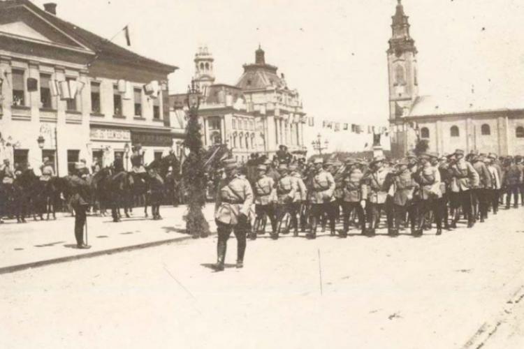 După preluarea Clujului în 1918, noua stăpânire românească s-a trezit că nu are unde locui. Au fost emise rapid bonuri de rechiziție a caselor
