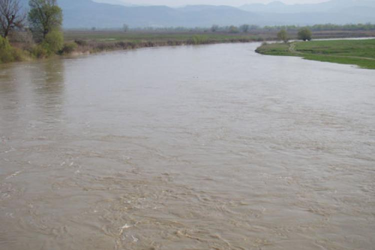 METEO. COD GALBEN de inundații în județul Cluj
