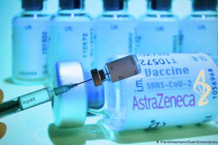 Primele doze de vaccin de la AstraZeneca vor fi distribuite duminică la Cluj