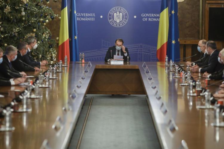 Guvernul Cîțu a anunțat tăieri pe toate planurile