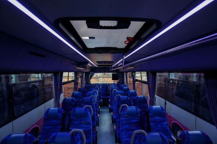 Cum arată flota de autobuze școlare a Clujului. 10 sunt nou-nouțe, la 625.000 lei bucata  - FOTO