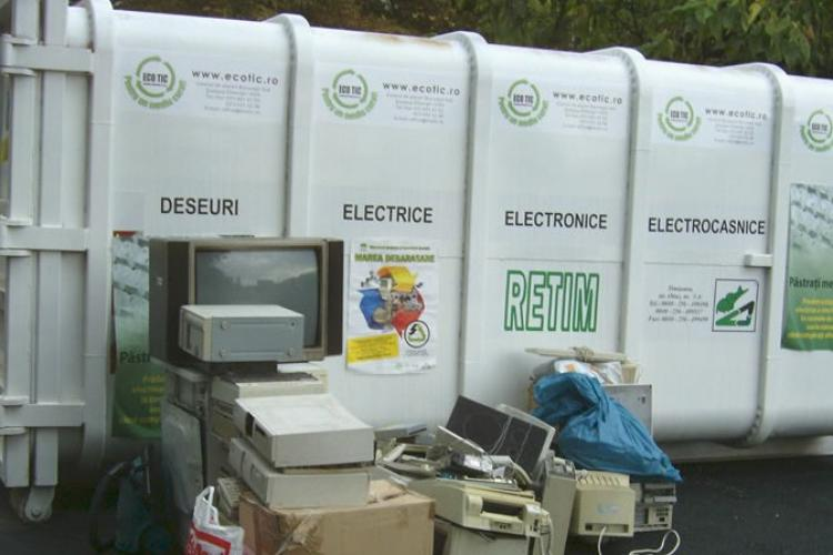 Primăria Florești colectează deșeurile electrice și electrocasnice