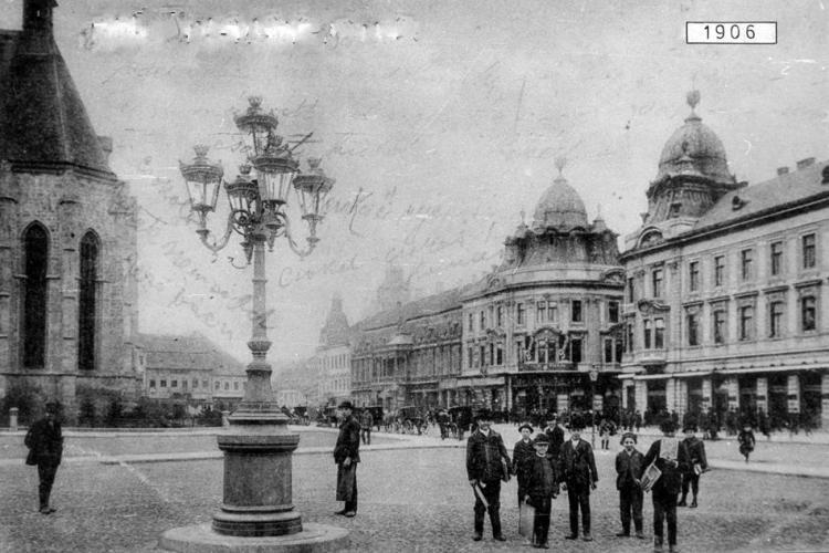 Care vi se pare cea mai frumoasă perioadă a Pieței Unirii din Cluj-Napoca, din ultima sută de ani?