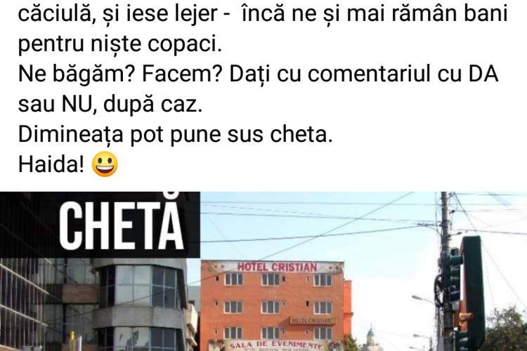 Clujenii vor sa cumpere hotelul hidos din Mihai Viteazu și să îl doneze lui Boc pentru a-l demola - FOTO