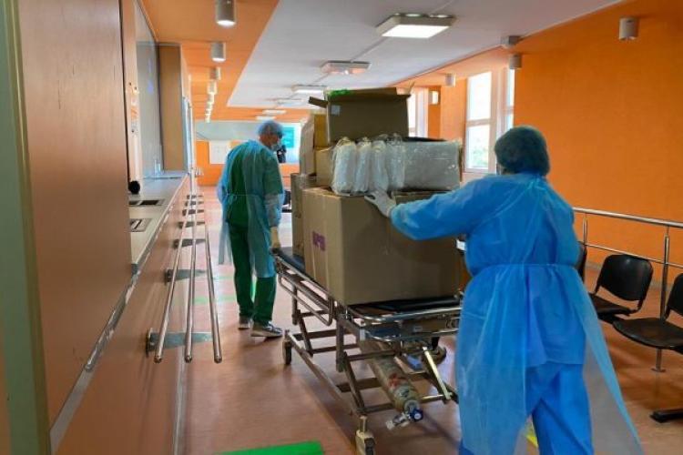 Clujul se află pe locul 3 în țară cu cele mai multe cazuri de COVID-19