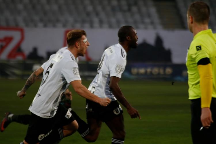 U Cluj a obținut victoria cu CSM Slatina în minutul 94