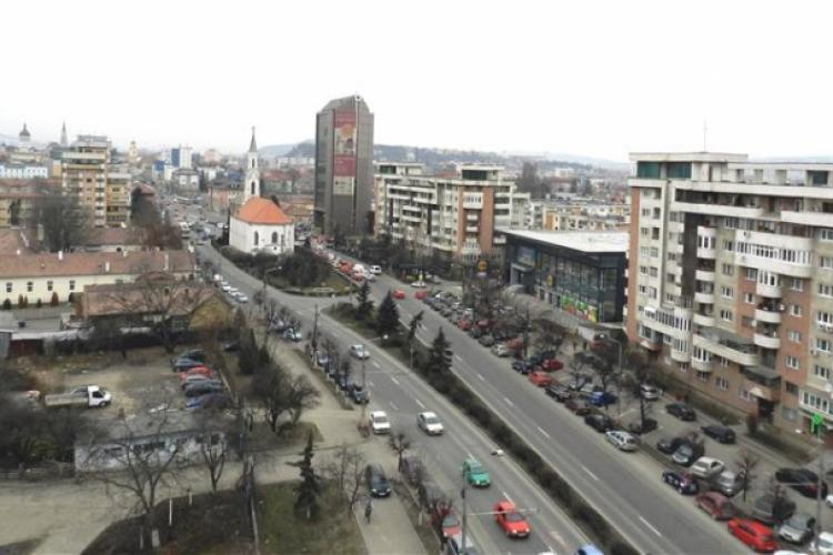 Asfaltare pe Bulevardul 21 Decembrie 1989, din Cluj-Napoca. Lucrările pe 21 Decembrie 1989 încep în această primăvară