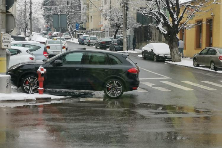 Cluj - Din ciclul, învăț să parchez, dar nu-mi iese tot timpul - FOTO