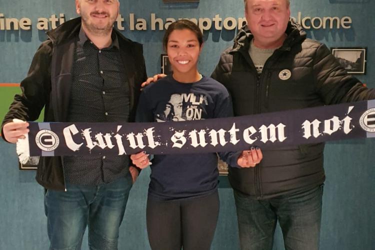 """""""U"""" Olimpia Cluj a reușit transferul din SUA pe ultima sută de metri! Rashida: """"Am ales cu sufletul"""""""