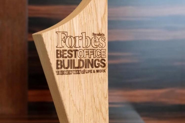Compania Iulius, premiată pentru consecvența investițiilor în cadrul Galei Forbes Best Office Buildings 2021 (P)