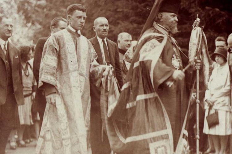 Istoria Palatului Arhiepiscopiei Ortodoxe a Clujului. A fost obținut de Episcopul Nicolae Ivan cu eforturi uriașe