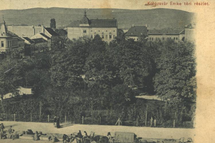 Cum arăta Piața Avram Iancu înainte de construcția catedralei Ordotoxe - FOTO