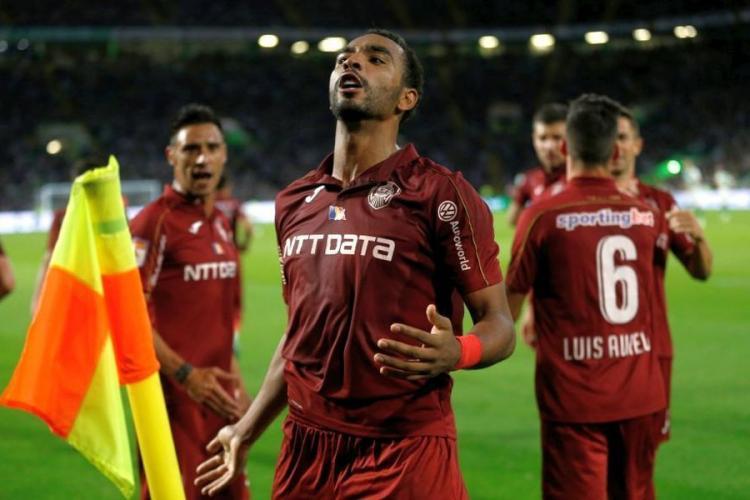 CFR Cluj a reușit victoria la Gaz Metan, după golul lui Billel Omrani