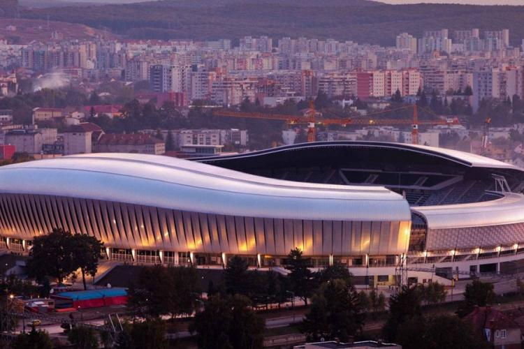 PP Protect Security, contract de 100.000 de lei atribuit direct la Cluj Arena