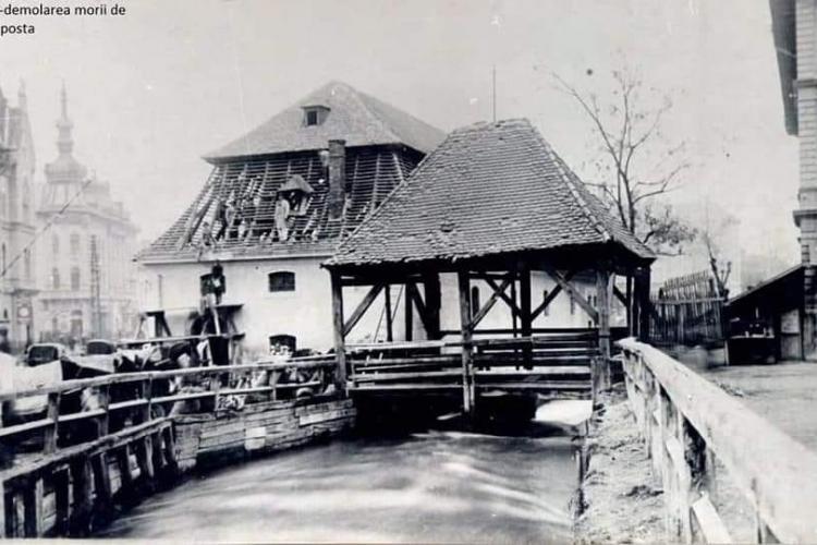 Mori de apă la Cluj. Au fost mai multe mori, pe Someș și pe Canalul Morii - FOTO